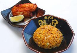 半チャーハン+唐揚げ(小)